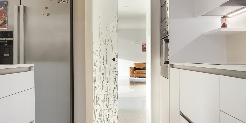 ECLISSE Syntesis® Line puerta corredera enrasada puerta cristal